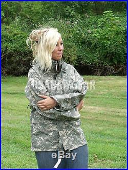 Genuine US Army GEN 2 II EWCWS Goretex Waterproof Acu Parka Jacket S, M, L, XL, XXL
