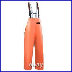 Grundens Herkules 16 Commercial Fishing Bibs Pants Trousers Bib Hercules Orange