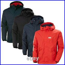 Helly Hansen Mens 2020 Ervik Waterproof Windproof Hooded Coat Jacket 25% OFF RRP