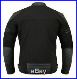 KYB Windproof Waterproof Softshell Leather Thermal Motorbike Motorcycle JACKET