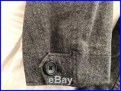 Lknw TEN C Small Gray DRESS JACKET MKT II (Sz-46 EU/36 US) Made in Italy