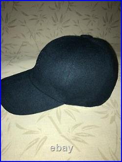 Loro Piana Baseball Cap Cashmere blue Size S M Made in Italy
