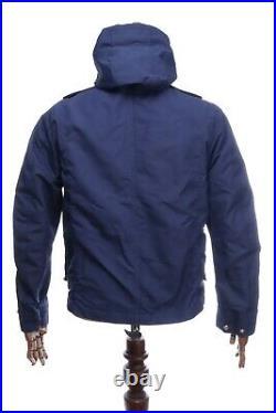 MA STRUM MASSIMO OSTI ARCHIVE Navy Blue Sniper Jacket Size M