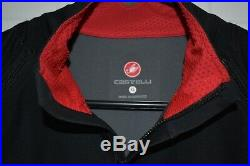 Men's Castelli Perfetto Convertible Cycling Jacket XL Gore Windstopper Used