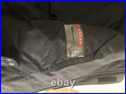 Men's PRADA SGV 155 Gore-Tex Ski Jacket Polyester Hunter Green Size 50