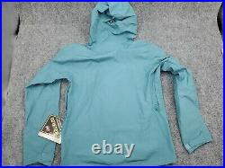 Men's Size Small Patagonia Calcite GTX Rain Wind proof Jacket $249 Blue Gore-Tex