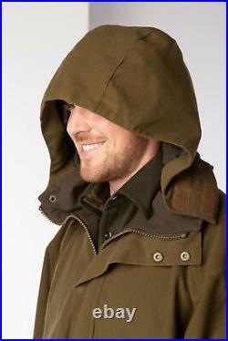 Men's Waterproof Shooting Jacket Rydale Country Mens Green Hunting Clothing UK