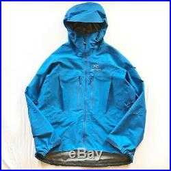 Mens Arcteryx Alpha SV Gore-Tex Pro Shell Jacket XL Beta Theta Atom SL AR LT