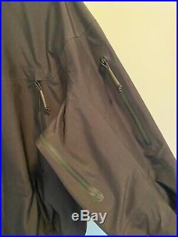 Mens Arcteryx LEAF Alpha GEN 2 jacket GORETEX shell XL black