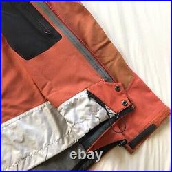 Mens Arcteryx Rare Sidewinder Orange Jacket Recco Alpha Theta Beta AR SV LT SL