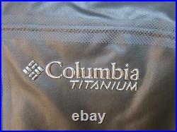 Mens S, M, L, Columbia TITANIUM OUTDRY EX MOGUL INSULATED WATERPROOF JACKET