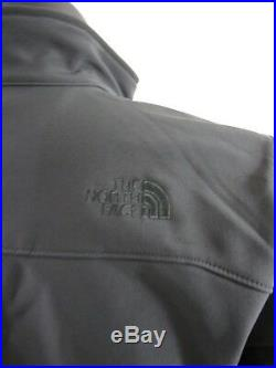 Mens TNF The North Face Apex Bionic FZ Softshell Windproof Jacket Black / Black