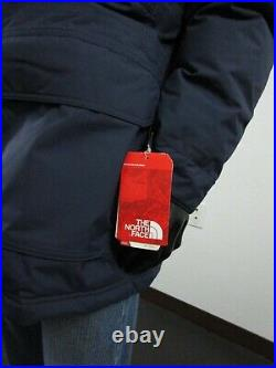 Mens TNF The North Face Mcmurdo III Down Parka Warm Insulated Winter Jacket Navy