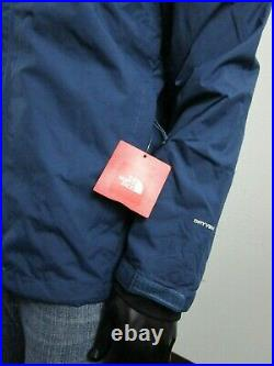 Mens The North Face Cinder 2 Tri 3 in 1 Hooded Waterproof Jacket Blue Wing