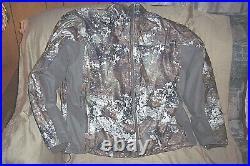 Mens XL Camo Jacket Waterproof Parka 3n1 Insulated Hunting Parka Strata Camo