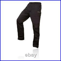 Montane Mens Dynamo Waterproof Pants Trousers Bottoms Black Sports Outdoors