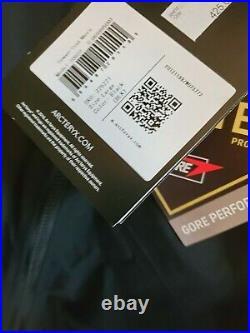 NEW 2020 ARC'TERYX Sawyer Coat Black MSRP $475.00 NWT