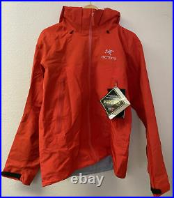 NEW Arc'teryx Beta AR Gore-Tex Pro Jacket Dynasty (red) Size Large 25854