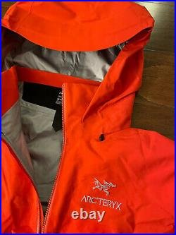 NEW Arc'teryx Beta AR Gore-Tex Pro Jacket Dynasty (red) Size MEDIUM 25854