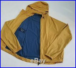 NEW LORO PIANA Regatta Deck Tech Rain Jacket, Merlin, Size L, Wind proof ITALY