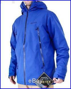 NEW MARMOT SOLARIS JACKET Gore-Tex Insulated Men's M-L-XL Blue Ski Snow Winter