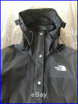 NEW THE NORTH FACE 1990 Mountain GTX Women's Jacket GORE-TEX Black NWT SMALL