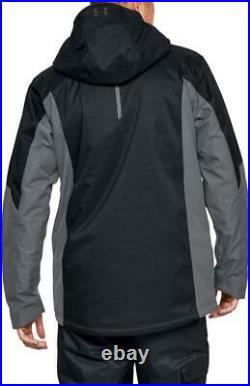 NEW Under Armour Emergent Insulated Jacket Mens S-M-L-XL-2XL Black MSRP $250
