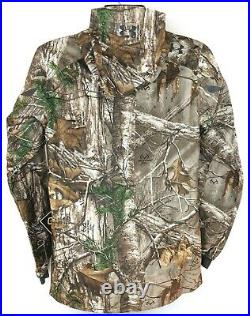 NEW Under Armour Small S Storm Camo Gore-Tex Storm Realtree Hunting Jacket Coat