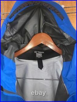 NWT Arc'teryx Beta SL Hybrid Men's Gore-Tex Rain Jacket Rigel (Blue) XXLarge
