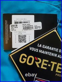 NWT Arcteryx Zeta SL Jacket Mens Medium Dark Firoza