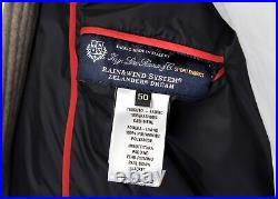 NWT BARBA Napoli PARKA pure cashmere Loro Piana fur goose down Italy 50 M