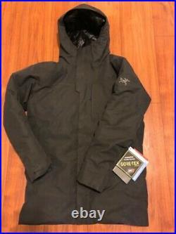 NWT Men's Arc'Teryx Therme Down Parka Gore-Tex Waterproof Down Jacket Black