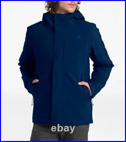 NWT The North Face Mens Carto Triclimate Jacket 3 In 1 Flag Blue LG