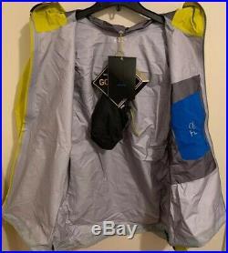 NWTs Arcteryx Mens Alpha FL Gore-Tex Pro Jacket. X-Large. Lichen (retail $425)