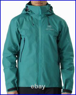 NWTs Arcteryx Mens Beta AR Gore-Tex Pro Jacket. Large. Yugen. #21782. Retail $575