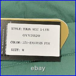 New Greyson Golf Yukon Vest X-Lite Mens Size Medium Maltese Sample 20 Green