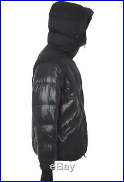 New Moncler Grenoble Men's Blue Goose Down Puffer Parka Jacket 6/xl