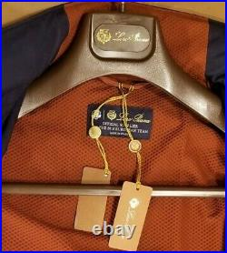 New with tags loro piana traveller Jacket 48, Navy blue wind and rain protection