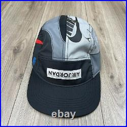 Nike Air Jordan 4 What The 5 Panel AW84 Hat Adjustable Adult Multicolor