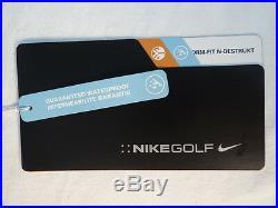Nike Golf Storm Fit N-Destrukt Black Waterproof Windproof Jacket Men's NWT $400