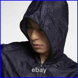 Nike Nikelab X Undercover Gyakusou Men's Running Jacket Purple Dynasty Ah1160 S
