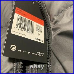 Nike Sportswear Down Fill Windrunner Hooded Camo Puffer Jacket Large BV4763-083