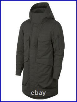 Nike Sportswear Tech Pack Down Fill Parka Jacket Size Large 928912-001 NWT