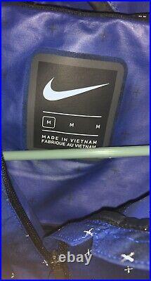 Nike Tech Pack Running Jacket Repel Hydrofuge Blue Dry BV5721-480 Men's M Medium