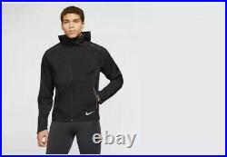 Nike Zonal AeroShield Running Jacket Black BV4858 011 Men's Size Medium