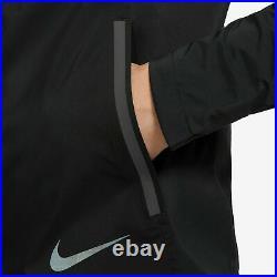 Nike Zonal AeroShield Running Jacket Black BV4858 011 Men's Size Small