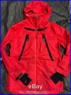 Nike x MMW 3-Layer Jacket Men's Size M Red Matthew Williams Alyx raincoat