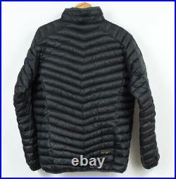 Norrona Lyngen Light Weight Down 750 Jacket Caviar Black Mens Size M