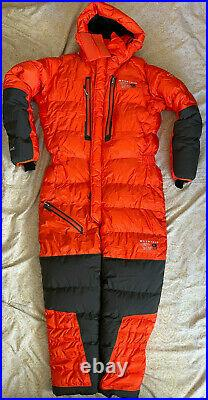 Nwt Mens Mountain Hardwear Absolute Zero Suit Medium Med Orange Himalayan Down