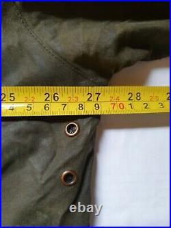 Orvis Field Coat Jacket Waxed Beaufort L (44) Green Hunting Fishing Rrp £289